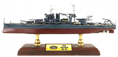 Battleship USS Arizona BB-39, Pearl Harbor, 1941, 1: 700, Forces of Valor
