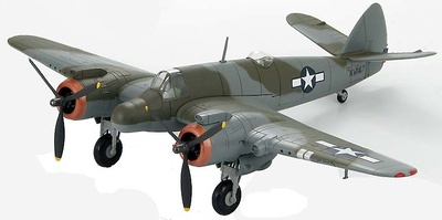 Beaufighter Mk.VIf 415th Night Fighter Squadron, 12th U.S. Army Air Force, 1:72, Hobby Master