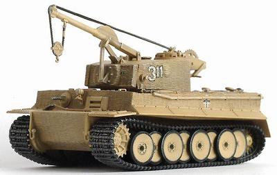 Bergepanzer Tiger I w/Zimmerit, s.Pz.Abt.508, Italia, 1944, 1:72, Dragon Armor