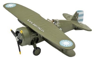 "Biplano Grumman F3F-2 ""Flying Barrel"" Fuerza Aérea de la China Nacionalista, 1:72, Planeta de Agostini"