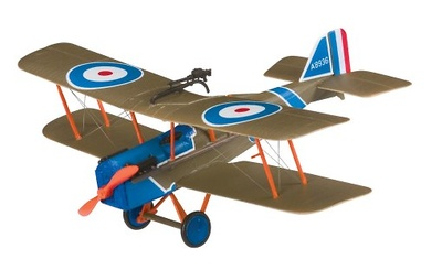 Biplano SE5A, Royal Aircraft Factory, 1917, 1:48, Corgi