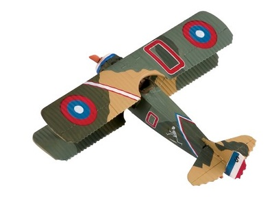 Biplano SPAD XIII (S4489), 1918, 1:48, Corgi