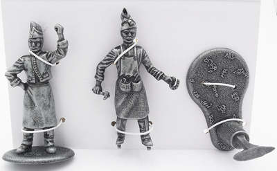 Blacksmith with Anvil, Hammer and Horseshoe, Blacksmith's Assistant, 1:24, Atlas Editions