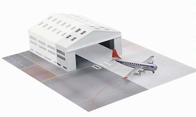 Boeing 377  Northwest Airlines con sección de hangar , 1:400, Dragon Wings
