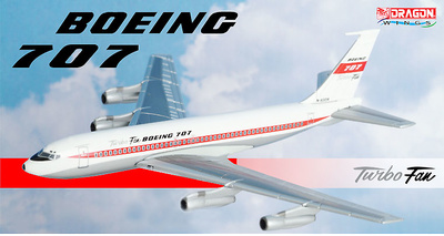 Boeing 707 Turbo Fan, N-93134, 1:400, Dragon Wings