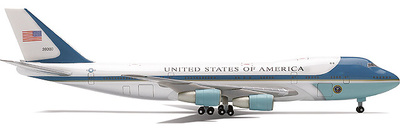 "Boeing 747-200 ""Air Force One"", United States, 1:400, Herpa"