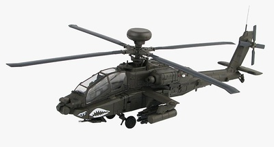 Boeing AH-64D Longbow (última versión ) 05-7011, US Army, Camp Speicher, Tikrit, Irak, 2010, 1:72, Hobby Master