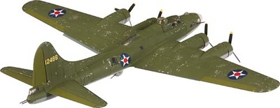 Boeing B-17E Flying Fortress, 1:72, Corgi