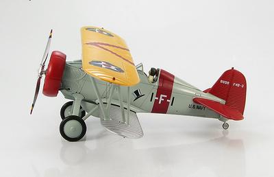 "Boeing F4B-3 1-F-1 (BuNo A8898) VF-1B ""High Hats"" CV-3, USS Saratoga, circa 1932, 1:48, Hobby Master"