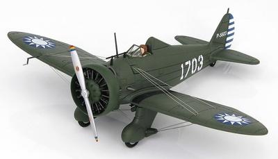 Boeing Modelo 281 1703, 17º Escuadrón, Fuerzas Aéreas Chinas, Nanking, 2ª Guerra Mundial, 1:48, Hobby Master