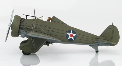 Boeing P-26A Peashooter, Wheeler Field, Hawaii, Diciembre, 1941, 1:48, Hobby Master