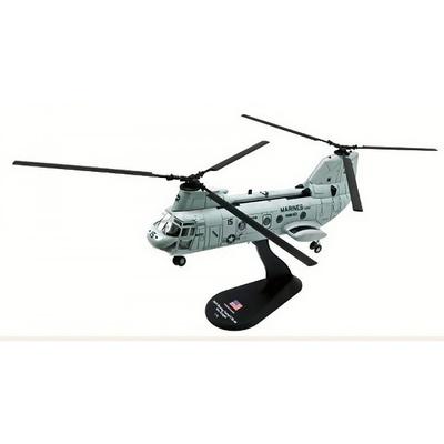 Boeing Vertol CH-46 Sea Knight, USMC, 1:72, Amercom