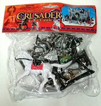 Bolsa de figuras Crusaders y Castle, 1:30