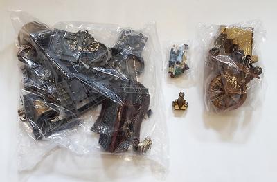 Bolsas con set de piezas Castillo Embrujado, Exin Castillos