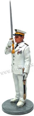 Bombero, Oficial  con traje de gala, Marsella, Francia 1982, 1:30, Del Prado