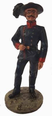 Bombero, traje de gala, Italia, 1870, 1:30, Del Prado