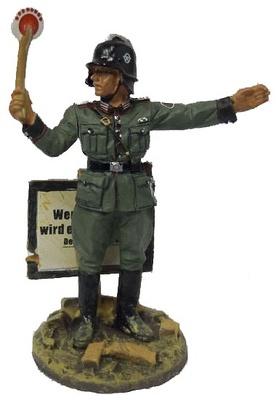 Bombero Feuerschutzpolizei, Alemania, 1940, 1:30, Del Prado