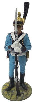 Bombero con traje ceremonial, Bruselas, Bélgica, 1810, 1:30, Del Prado