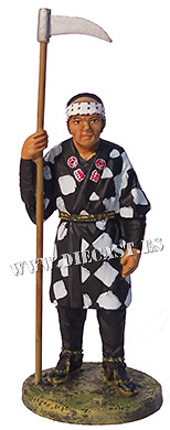 Bombero con traje de trabajo, Japón, 1858, 1:30, Del Prado