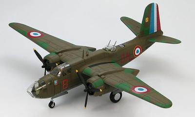 "Boston Mk.IV BZ443/OA-B 342 ""Lorraine"" Sqn, Free French Air Force B.50 Vitry en Artois, France 1944, 1:72, Hobby Master"