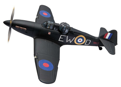 Boulton Paul Defiant Mk.I, N1671, RAF Museum Hendon 'the only complete survivor', 1:72, Corgi