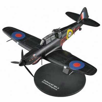 Boulton Paul Defiant NF, Royal Air Force, 2º G.M., 1:72, DeAgostini