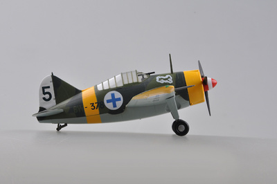 Brewster F2A Buffalo, AF,BW-378, Finlandia, 1941, 1:72, Easy Model