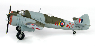 Bristol Beaufighter Mk.VIF Sqn Ldr M.J. Mansfeld and Flg Off S. Janacek, ND 211, WM-K, No. 68 Sqn., Fairwood Common, Mayo, 1944, 1:72, Hobby Master