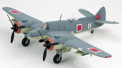 Bristol Beaufighter TF.Mk.X Torpil-Bombardiman-105. Torpil Grubu/1.BI.,THvKv No.6111, 1947, 1:72, Hobby Master