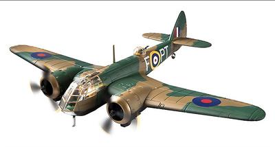 Bristol Blenheim Mk.I, Arthur Scarf VC, 62 Sqn RAF, Butterworth, Penang, 1941, 1:72, Corgi