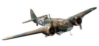 Bristol Blenheim Mk.I, L6739 (G-BPIV), The Imperial War Museum, Duxford Airfield, 2015, 1:72, Corgi