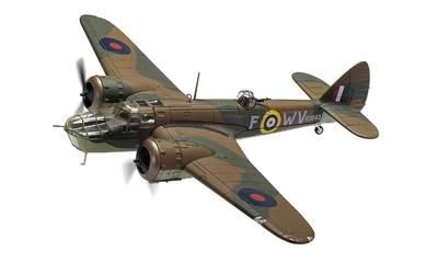 "Bristol Blenheim Mk.IV R3843/WV-F, ""Operación Pierna"", Agosto, 1941, 1:72, Corgi"