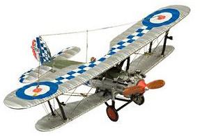 Bristol Bulldog Biplane, 1:72, Agostini Planet