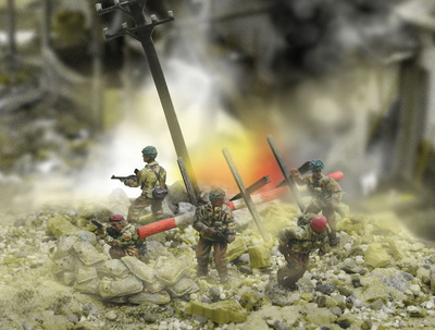 British 6th Airbourne Division Normandy, 1:72, Forces of Valor