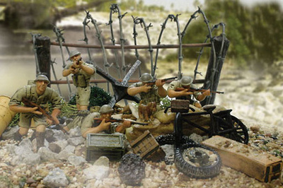 British 7th Armored Division, 1:32, Forces of Valor