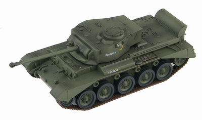 """British A34 Comet """"Iron Duke IV"""" T335104, HQ, 1st RTR, 7th Armoured Division, Germany 1945, 1:72, Hobby Master"""