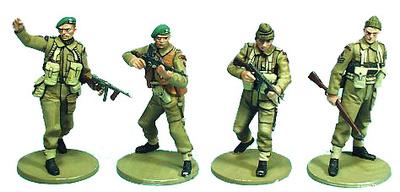 """British Commandos 1st Special Service Brigade """"L. Lovat"""", 1:35, Oryon"""