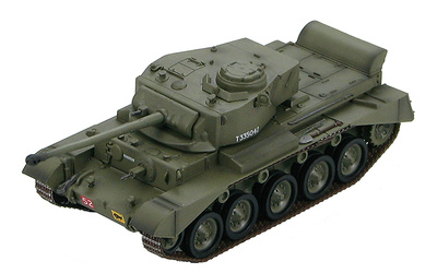 """British Cruiser Tank A34 """"Comet"""" """"Cobra"""", 3rd RTR, 29th Armoured Brigade, 11th Armoured Div., North Germany, March 1945, 1:72, Hobby Master"""
