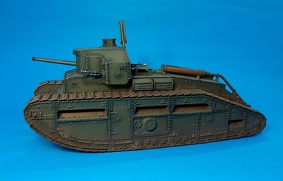 "British Medium Tank,  MARK C,  ""MALE"" TANK, 1:30, John Jenkins"