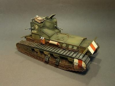 "British Medium Tank,  Whippet Tank,  ""CAESAR II"" A259  Bapaume,  28th August 1918, 1:30, John Jenkins"