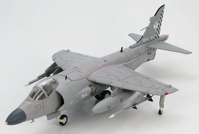 British Sea Harrier FA.2 ZH799 No. 801 Naval Air Sqn. RNAS Yeovilton during 1999/2000, 1:72, Hobby Master