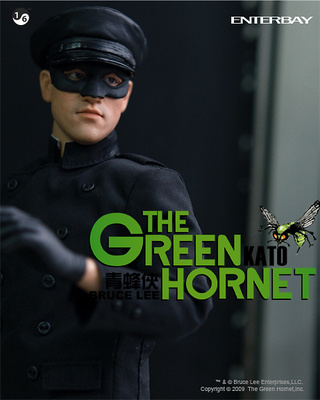 "Bruce Lee, KATO ""The Green Hornet"", 1:6, Enterbay (sin cabeza)"