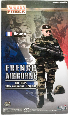 Bruno, Paracaidista Francés, 1er RGP, 11th Airbone Brigada, 1:6, Elite Force