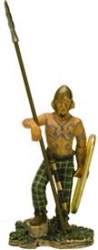 """Brython Warrior, Siglo I d.C.,  Colección """"Guerreros Medievales"""", 1:32, Altaya"""