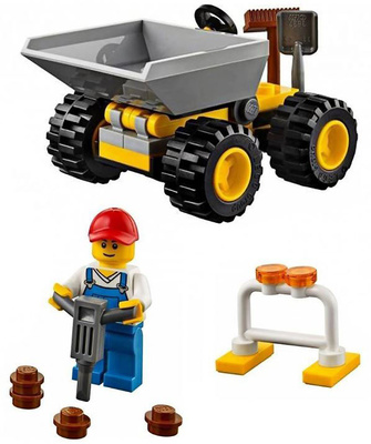 Bulldozer, Lego City