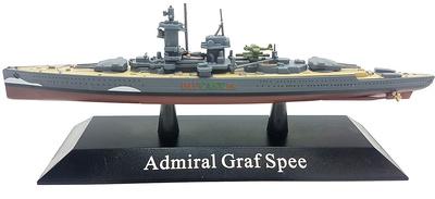 Buque Blindado Admiral Graf Spee, Kriegsmarine, 1936, 1:1250, DeAgostini