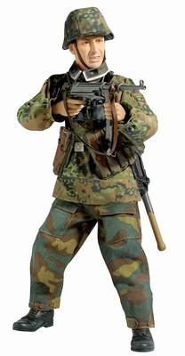 """Burkhard Krause"" (Suboficial) HJ Panzergrenadier, 12.Pz.Div ""HitlerJugend"", Las Ardenas, 1944, 1:6, Dragon Figures"