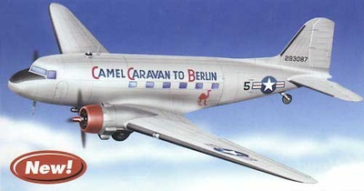 "C-47A TRANSPORT ""Camel Caravan to Berlin"", 1:48, Franklin Mint"