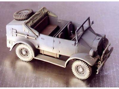 C.M.P. 15cwt Kubel, 1:72, Wespe Models