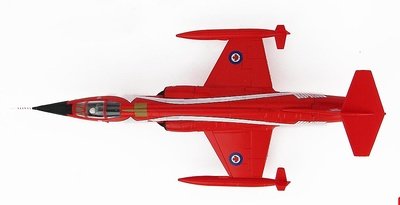 """CF-104 Starfighter """"Toothbrush"""" 104805, 421 Squadron, CAF, 1983, 1:72, Hobby Master"""